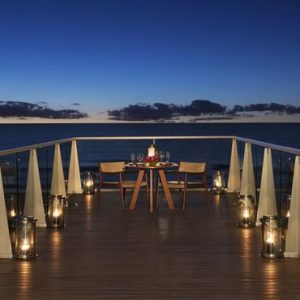 Mexico Honeymoon Packages Secrets The Vine Cancun Romantic Dinner On Deck