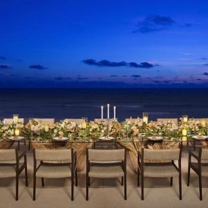 Mexico Honeymoon Packages Secrets The Vine Cancun Wedding Dining Reception