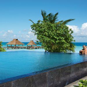 Mexico Honeymoon Packages Zoetry Paraiso De La Bonita Riviera Maya Infinity Pool