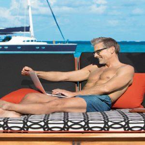 Mexico Honeymoon Packages Zoetry Paraiso De La Bonita Riviera Maya Man On A Cabana