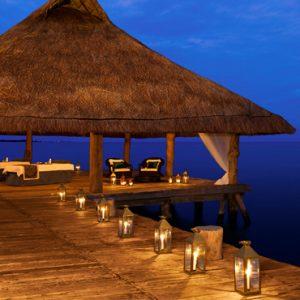 Mexico Honeymoon Packages Zoetry Paraiso De La Bonita Riviera Maya Massage On Pier