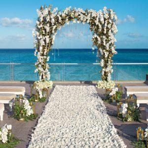 Mexico Honeymoon Packages Zoetry Paraiso De La Bonita Riviera Maya Rooftop Terrace Wedding