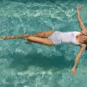 Mexico Honeymoon Packages Zoetry Paraiso De La Bonita Riviera Maya Woman In Pool