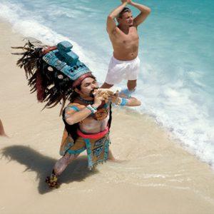 Mexico Honeymoon Packages Zoetry Paraiso De La Bonita Riviera Maya Yoga On Beach