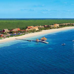 Mexico Honeymoon Packages Zoetry Paraiso De La Bonita Riviera Maya Aerial View