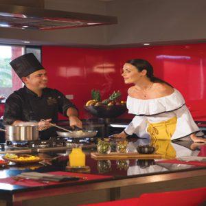 Mexico Honeymoon Packages Zoetry Paraiso De La Bonita Riviera Maya Chefs Kitchen Guest