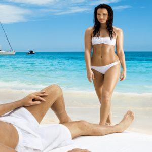 Mexico Honeymoon Packages Zoetry Paraiso De La Bonita Riviera Maya Couple On Beach