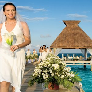 Mexico Honeymoon Packages Zoetry Paraiso De La Bonita Riviera Maya Wedding On Pier