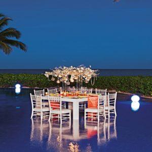Mexico Honeymoon Packages Zoetry Paraiso De La Bonita Riviera Maya Wedding Pool Private Dinner