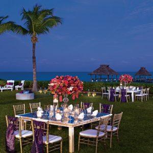 Mexico Honeymoon Packages Zoetry Paraiso De La Bonita Riviera Maya Wedding Reception Garden