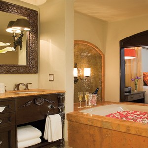 Mexico Honeymoons Packages Secrets Maroma Beach Junior Suite Partial Ocean View Bathroom