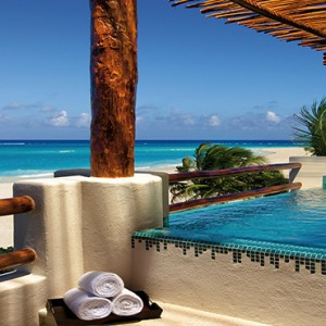 Mexico Honeymoons Packages Secrets Maroma Beach Preferred Club Honeymoon Suite Jacuzzi