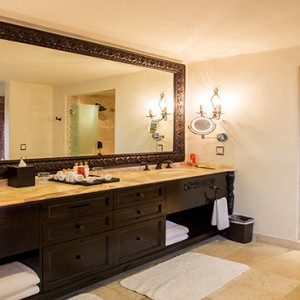 Mexico Honeymoons Packages Secrets Maroma Beach Presidential Suite Swim Out Bathroom