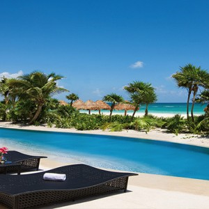 Mexico Honeymoons Packages Secrets Maroma Beach Presidential Suite Swim Out Pool