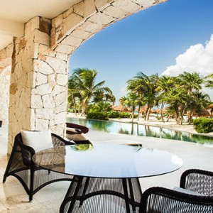 Mexico Honeymoons Packages Secrets Maroma Beach Presidential Suite Swim Out Terrace