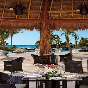 Mexico Honeymoons Packages Secrets Maroma Beach Seaside Grill