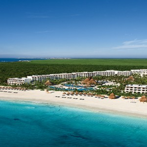 Mexico Honeymoons Packages Secrets Maroma Beach Aerial View