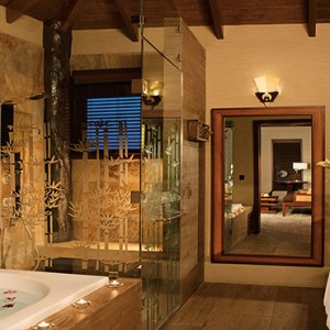 Mexico Honeymoons Packages Secrets Silversands Riviera Cancun – Over The Pool Cabana Honeymoon Suite Bathroom