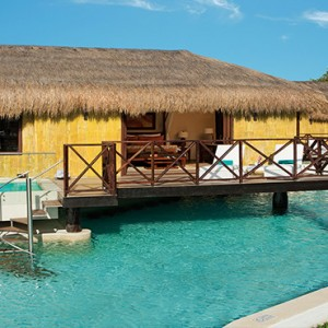 Mexico Honeymoons Packages Secrets Silversands Riviera Cancun – Over The Pool Cabana Honeymoon Suite Exterior