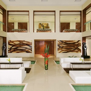 Mexico Honeymoons Packages Secrets Silversands Riviera Cancun – Spa Lobby
