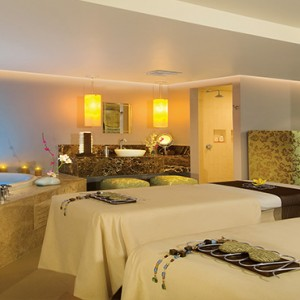 Mexico Honeymoons Packages Secrets Silversands Riviera Cancun – Spa Massage Room