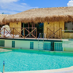 Mexico Honeymoons Packages Secrets Silversands Riviera Cancun – Over The Pool Villa