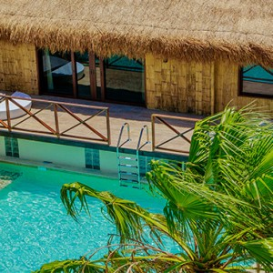 Mexico Honeymoons Packages Secrets Silversands Riviera Cancun – Over The Pool Villa1