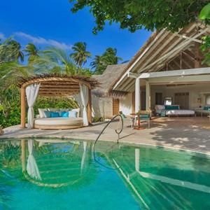 Milaidhoo Island Maldives - Luxury Maldives Honeymoon Packages - Beach Pool Villas exterior