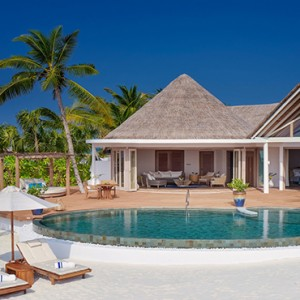 Milaidhoo Island Maldives - Luxury Maldives Honeymoon Packages - Beach Residence exterior