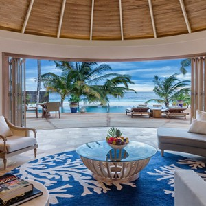 Milaidhoo Island Maldives - Luxury Maldives Honeymoon Packages - Beach Residence living area