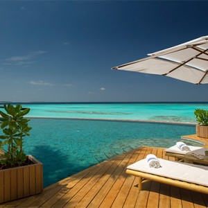 Milaidhoo Island Maldives - Luxury Maldives Honeymoon Packages - Compass (Pool bar) exterior