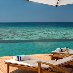 Milaidhoo Island Maldives - Luxury Maldives Honeymoon Packages - Ocean Residence pool deck1