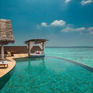 Milaidhoo Island Maldives - Luxury Maldives Honeymoon Packages - Ocean Residence pool deck2