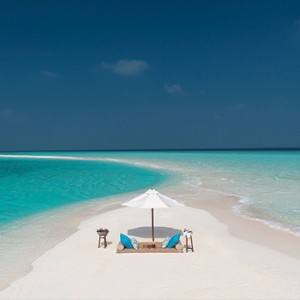 Milaidhoo Island Maldives - Luxury Maldives Honeymoon Packages - Sandbank1