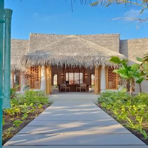 Milaidhoo Island Maldives - Luxury Maldives Honeymoon Packages - Spa Entrance