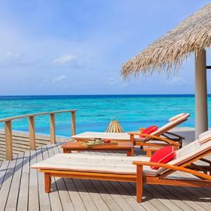 Milaidhoo Island Maldives - Luxury Maldives Honeymoon Packages - Water Pool Villa deck