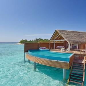 Milaidhoo Island Maldives - Luxury Maldives Honeymoon Packages - Water Pool Villa exterior1