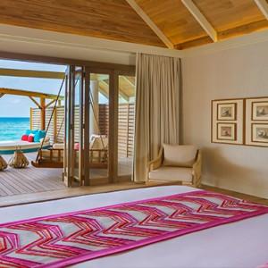 Milaidhoo Island Maldives - Luxury Maldives Honeymoon Packages - Water Pool Villa interior