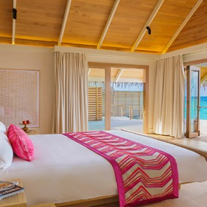 Milaidhoo Island Maldives - Luxury Maldives Honeymoon Packages - Water Pool Villa interior1