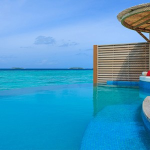Milaidhoo Island Maldives - Luxury Maldives Honeymoon Packages - Water Pool Villa pool