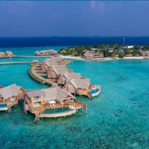 Milaidhoo Island Maldives - Luxury Maldives Honeymoon Packages - aerial view