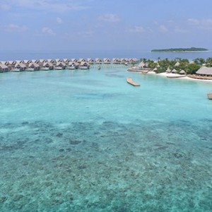 Milaidhoo Island Maldives - Luxury Maldives Honeymoon Packages - aerial view3