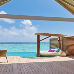 Milaidhoo Island Maldives - Luxury Maldives Honeymoon Packages - ocean view deck
