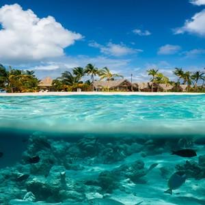 Milaidhoo Island Maldives - Luxury Maldives Honeymoon Packages - ocean view of resort