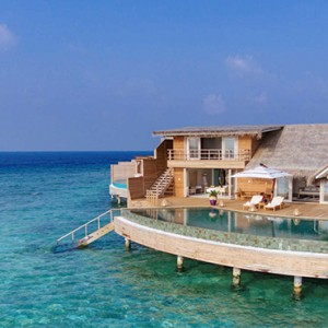 Milaidhoo Island Maldives - Luxury Maldives Honeymoon Packages - view of water pool villa