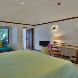 OBLU by Atmosphere at Helengali - Luxury Maldives Honeymoon Packages - Beach Villa Interior