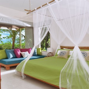OBLU by Atmosphere at Helengali - Luxury Maldives Honeymoon Packages - Deluxe Beach Villa Interior