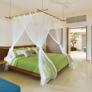 OBLU by Atmosphere at Helengali - Luxury Maldives Honeymoon Packages - Deluxe Beach Villa Interior1
