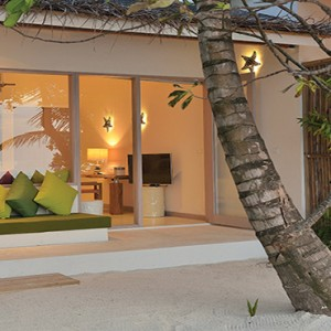 OBLU by Atmosphere at Helengali - Luxury Maldives Honeymoon Packages - Deluxe Beach Villa exterior