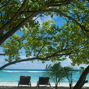 OBLU by Atmosphere at Helengali - Luxury Maldives Honeymoon Packages - Garden beach view1